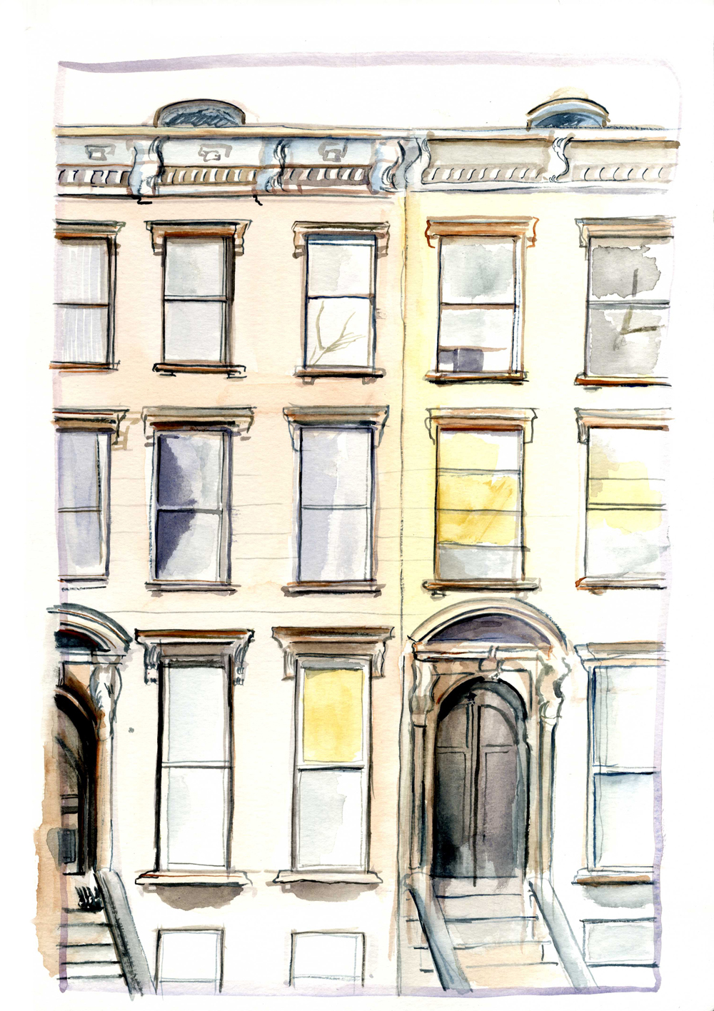 coloring pages brownstone - photo#11