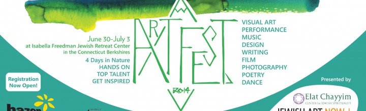 Join me at ArtFest! 4 Days of Jewish Arts in the Berkshires